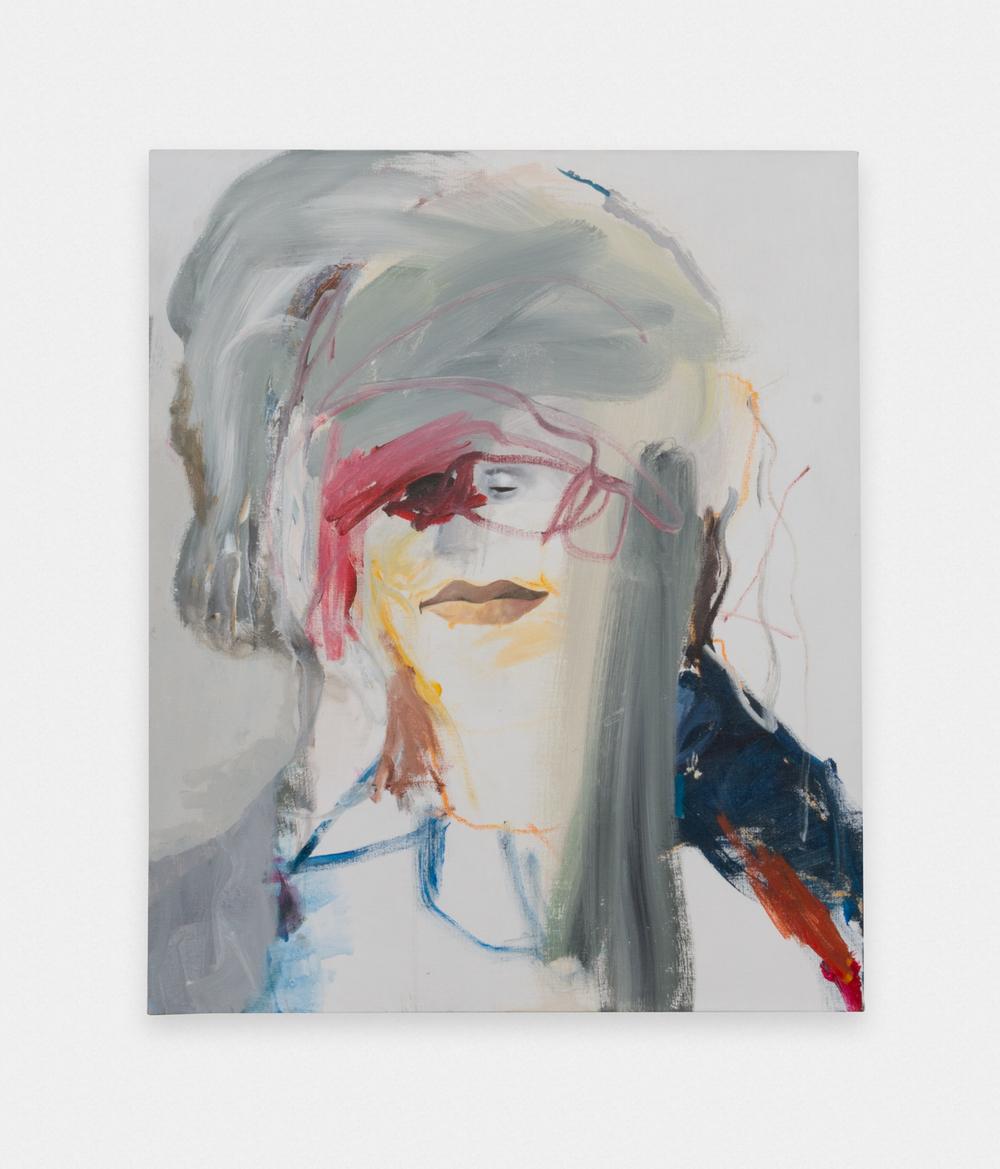 Margot Bergman  Madame X  2015 Acrylic on canvas 34h x 28w in MBerg001