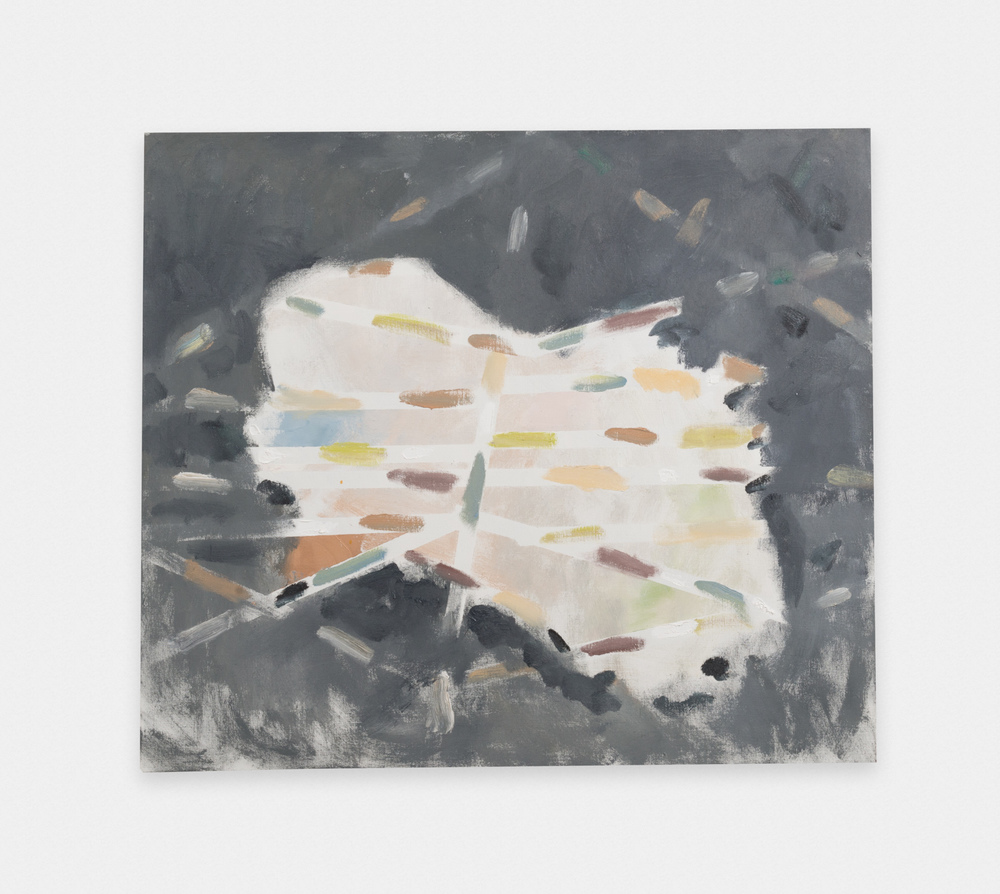 Noah Rorem Untitled 2015 Oil on linen 34 x 39 in (86.36h x 99.06w cm) NR011