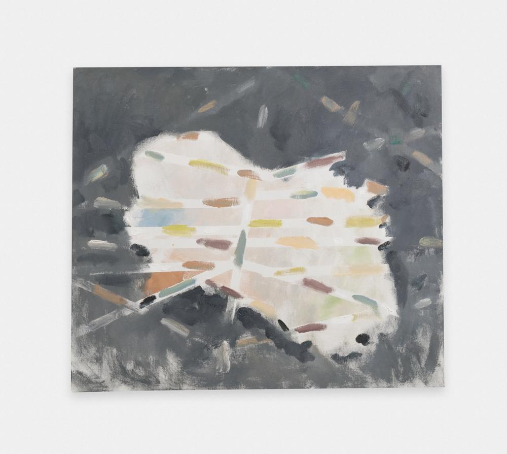 Noah Rorem  Untitled  2015 Oil on linen 34h x 39w in NR011