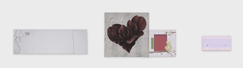 Chadwick Rantanen  Heart Bloom Rules  2016 Digital print on canvas 24h x 126w in CR032