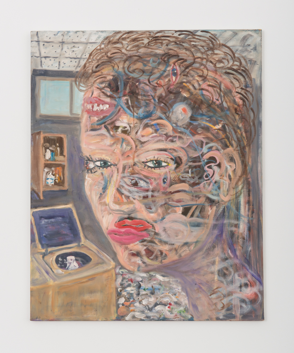 Jim Lutes  Her Discontentment  1989 Oil on linen 30h x 24w in JLutes002