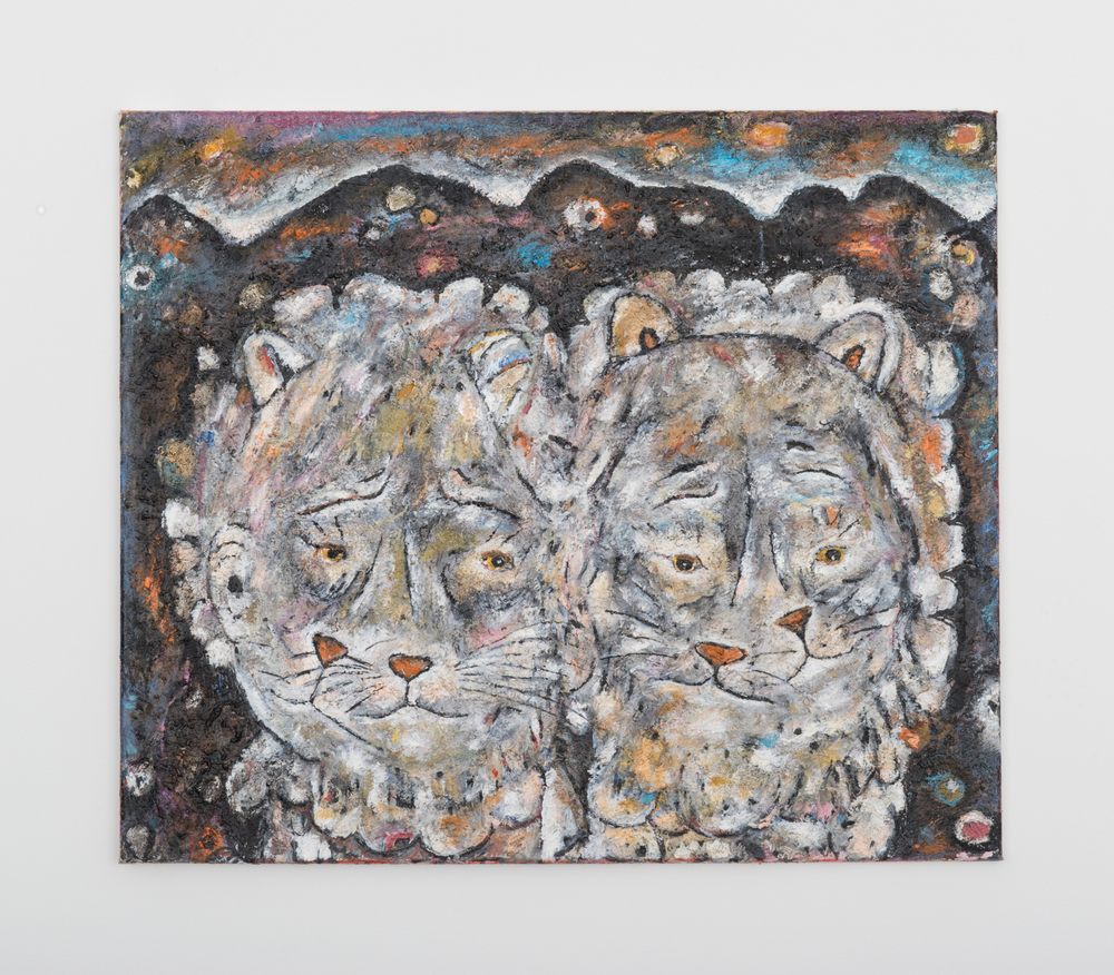 Ellen Gronemeyer Step Brothers 2016 Oil on canvas 23.67 x 27.5 in (60.12h x 69.85w cm) EG010
