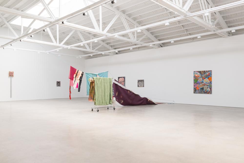 Phyllis Bramson, Ann Craven, Ellen Gronemeyer, Jim Lutes, Eric Mack, Dianna Molzan, Ivan Morley 2016 Shane Campbell Gallery, South Loop Installation view