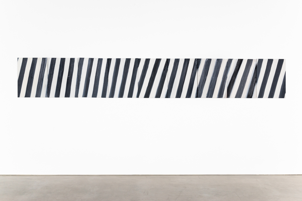 Ann Craven Stripe (A#1-9) 2010 Oil on canvas 24 x 162 in (60.96 x 411.48 cm) AC148