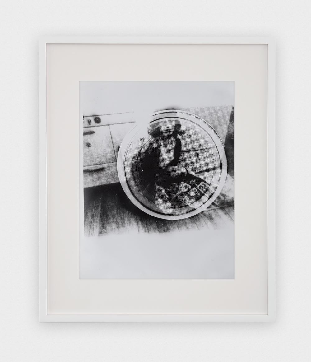 Jason Meadows  Concentric Test Strip, Cindy Sherman Bootleg #1  2016 Selenium-toned silver gelatin print 14h x 10w in JM047