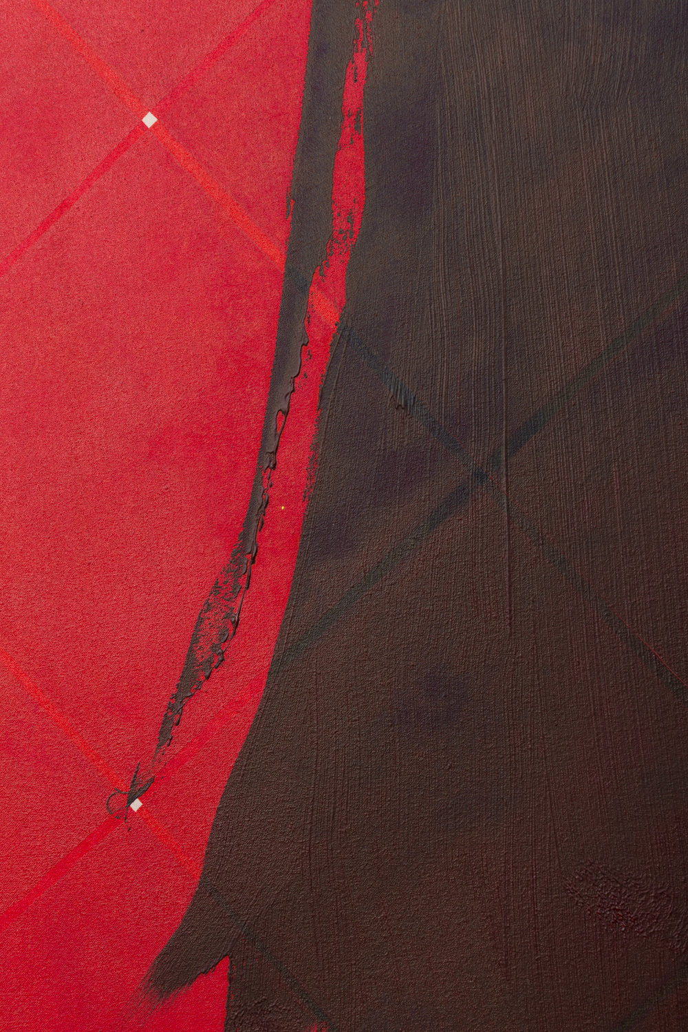 Zak Prekop Sill (detail) 2016 Oil on muslin 96 x 64 in (243.84h x 162.56w cm) ZP358