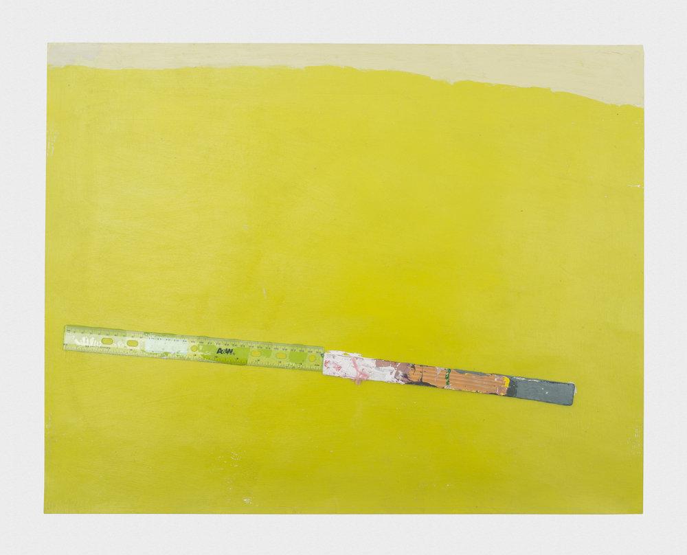 Torey Thornton Plain Friends 2015-2016 Mixed media on paper 22 x 28 in (artwork); 24 x 30 in (framed) TT040