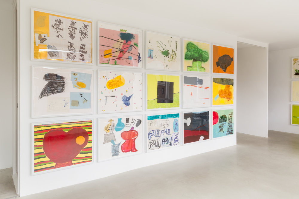 Torey Thornton Rapport Vroom 2016 Shane Campbell Gallery, Lincoln Park Installation view