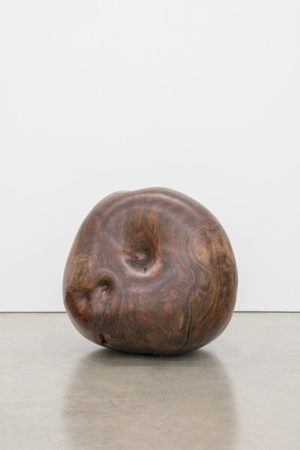 Alma Allen  Not Yet Titled  2016 Claro walnut 29h x 28w x 31d in AA044