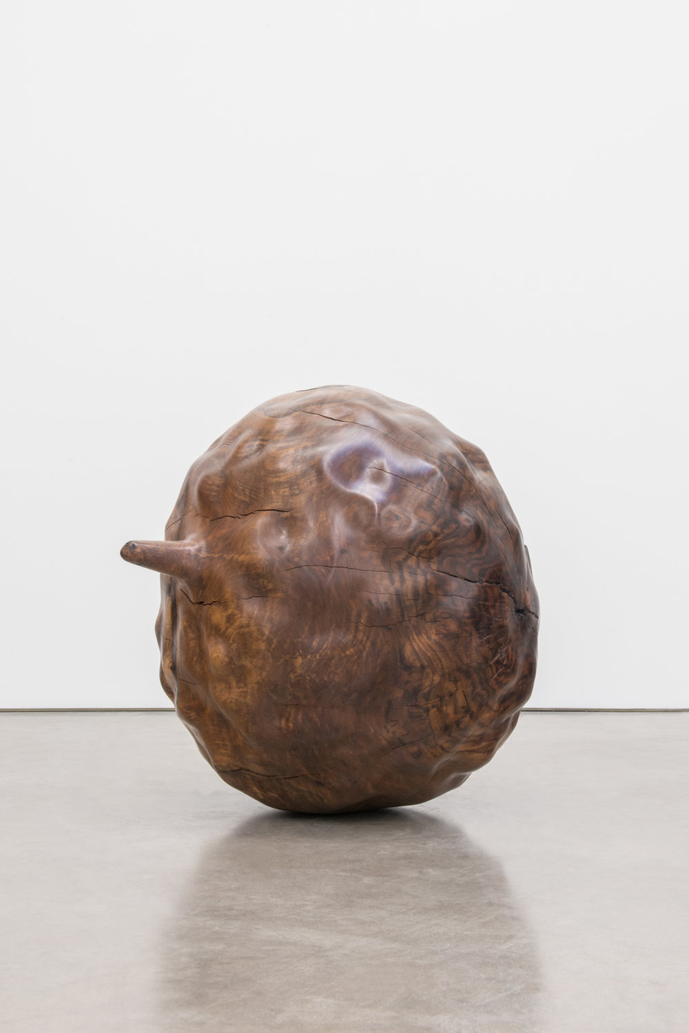 Alma Allen  Not Yet Titled  2016 Claro walnut 27h x 24w x 28d in AA045