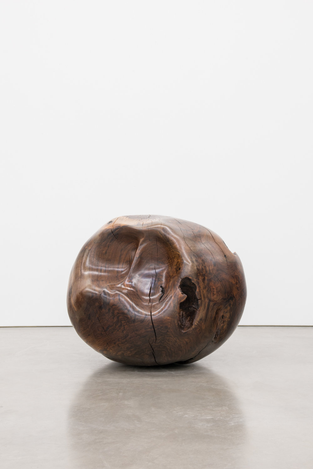 Alma Allen  Not Yet Titled  2016 Claro walnut 28h x 35w x 37d in AA043