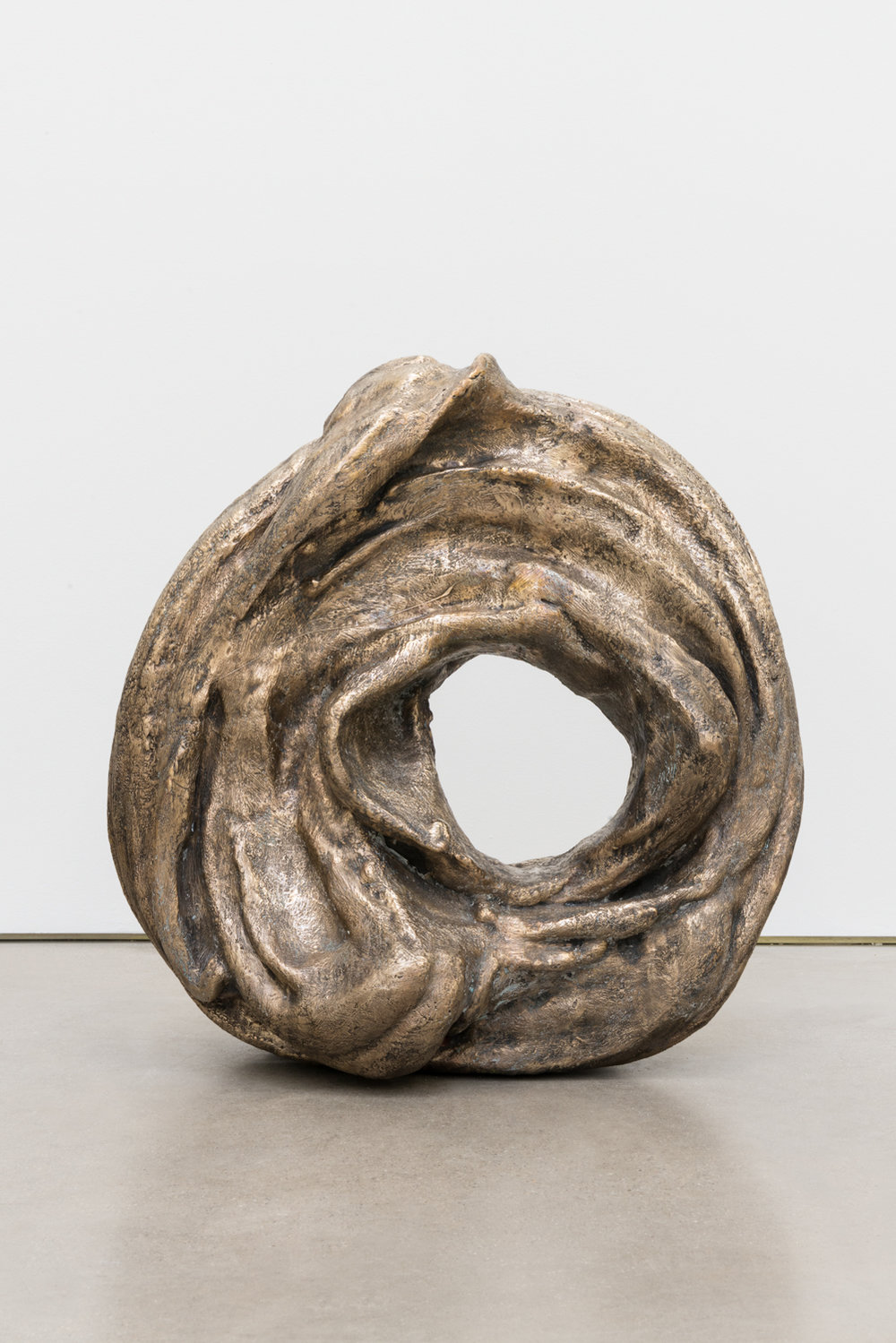 Alma Allen  Not Yet Titled  2016 Bronze 22h x 21w x 10d in AA048