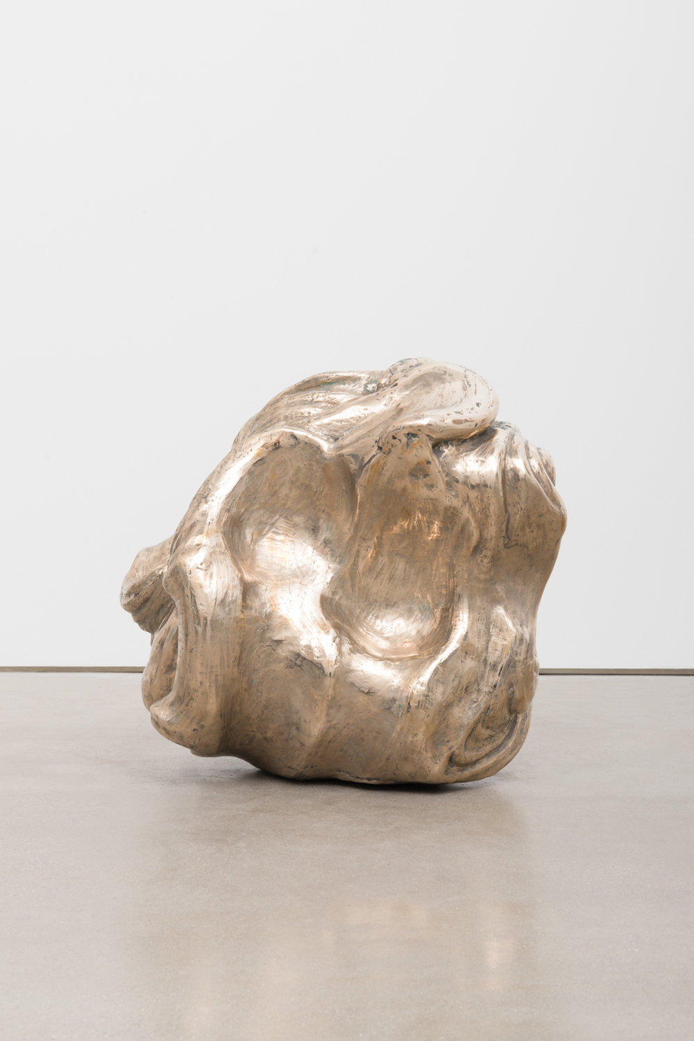 Alma Allen  Not Yet Titled  2016 Bronze 17h x 17w x 14d in AA056