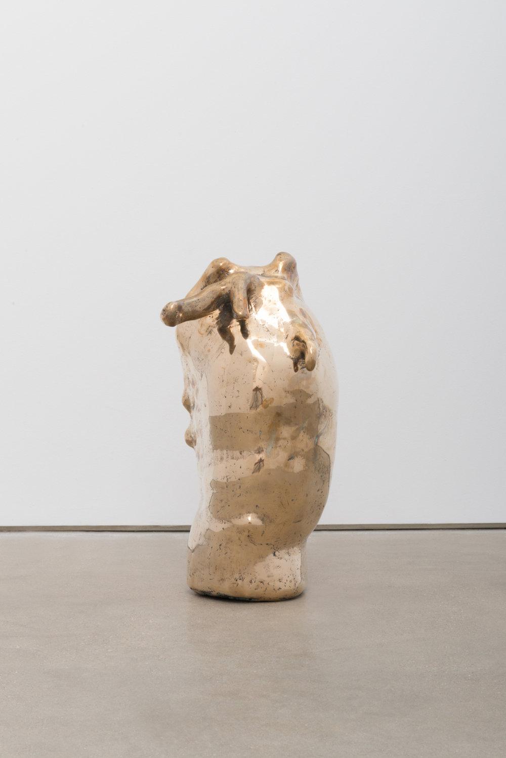 Alma Allen  Not Yet Titled , 2016 Bronze 16h x 10w x 8d in AA061
