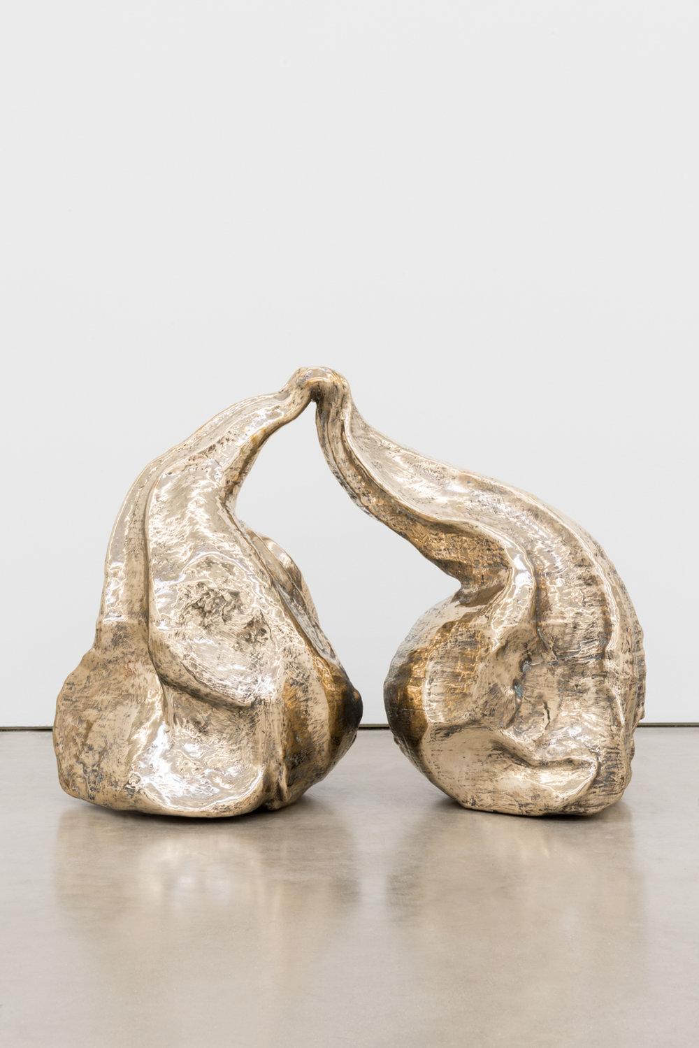 Alma Allen  Not Yet Titled , 2016 Bronze 24h x 30w x 13d in AA063