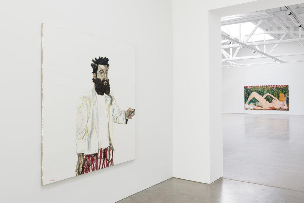 Alex Becerra Sueños Eróticos 2016 Shane Campbell Gallery, South Loop Installation view