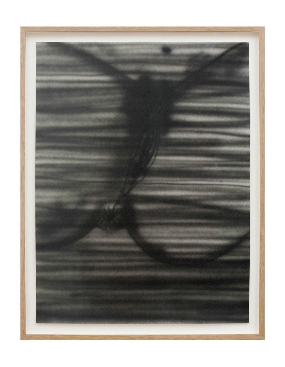 "Alex Becerra My Dad Said ""Eat the Sandwichon"" 2016 Acrylic airbrush on paper (framed) 23 2/3 x 17 7/10 in (59.18h x 44.96w cm) AB027"