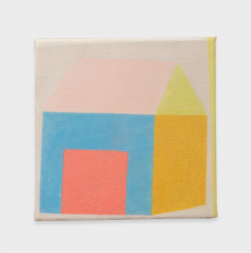 Michelle Rawlings Untitled 2017 Oil on linen 9 x 9 in (22.86h x 22.86w cm) MRaw005