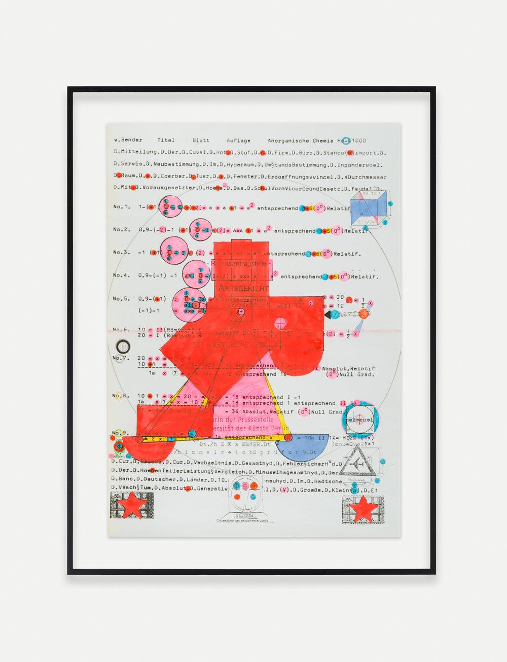 Adelhyd van Bender Untitled 1999-2014 16.5 x 11.75 in (41.91h x 29.85w cm) AVB008