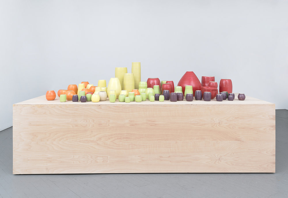 Shio Kusaka 2014 Shane Campbell Gallery, Chicago Installation view