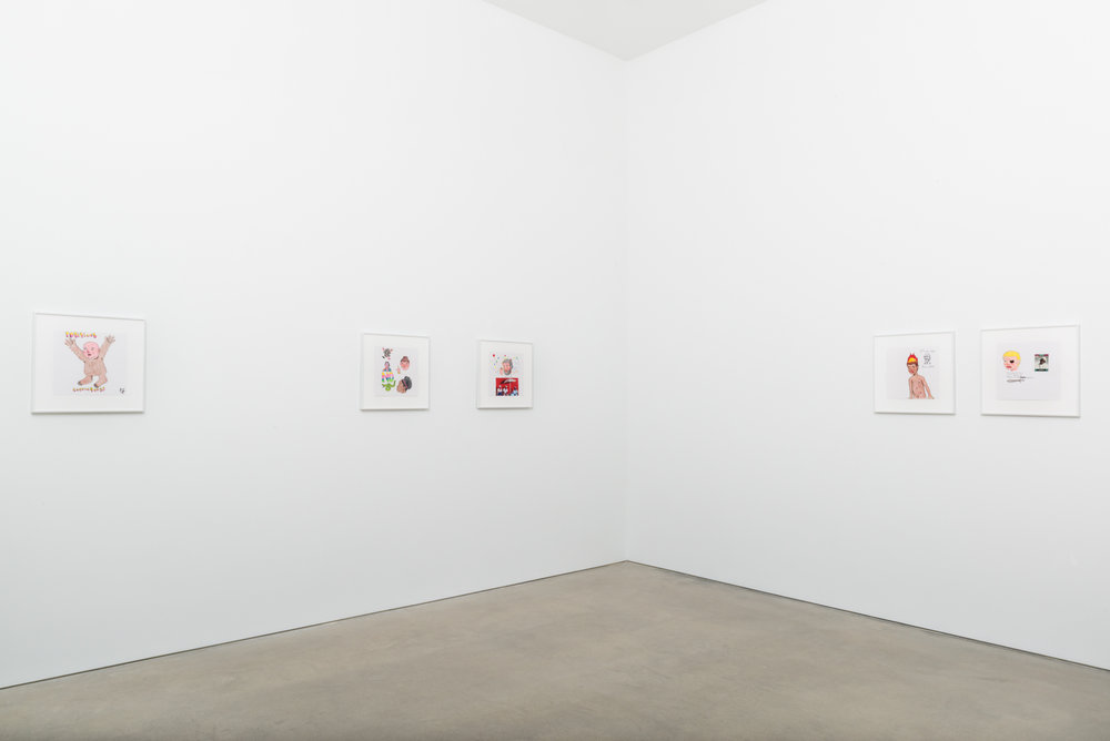David Leggett  Drawings  2017 Installation view Shane Campbell Gallery, South Loop