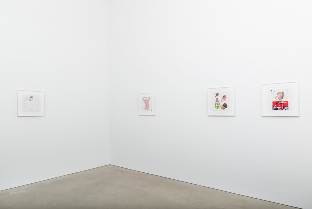 David Leggett Drawings 2017 Shane Campbell Gallery, South Loop Installation view