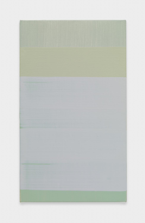 Yui Yaegashi untitled 2017 Oil on canvas 10 7/8h x 6 1/4w in 27.62h x 15.88w cm YY108
