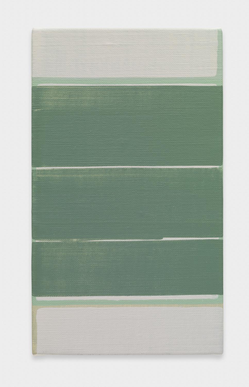Yui Yaegashi untitled 2017 Oil on canvas 10 7/8h x 6 1/4w in 27.62h x 15.88w cm YY109