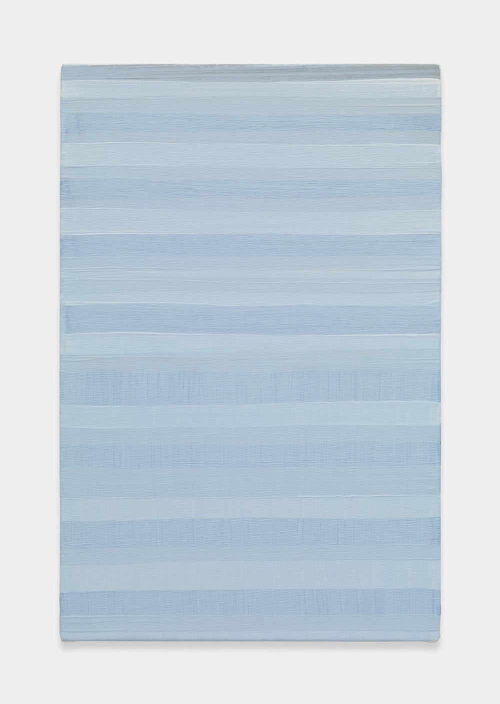 Yui Yaegashi Untitled, 2017 Oil on canvas 13 1/4h x 8 3/4w in 33.66h x 22.23w cm YY099