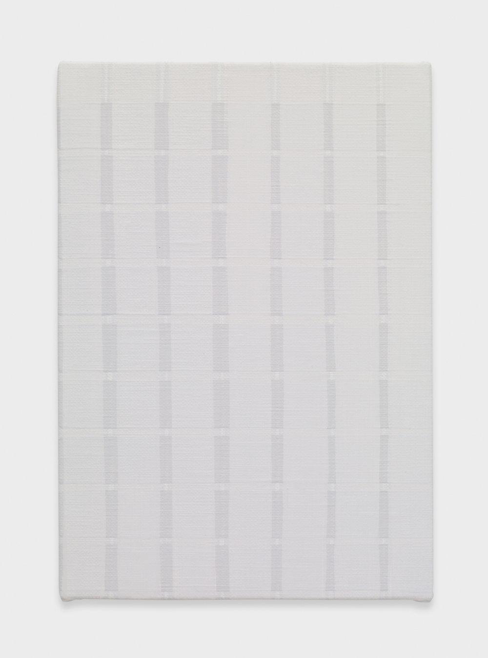 Yui Yaegashi Knife 2017 Oil on canvas 7 1/4h x 4 w in 18.41h x 10.16w cm YY089