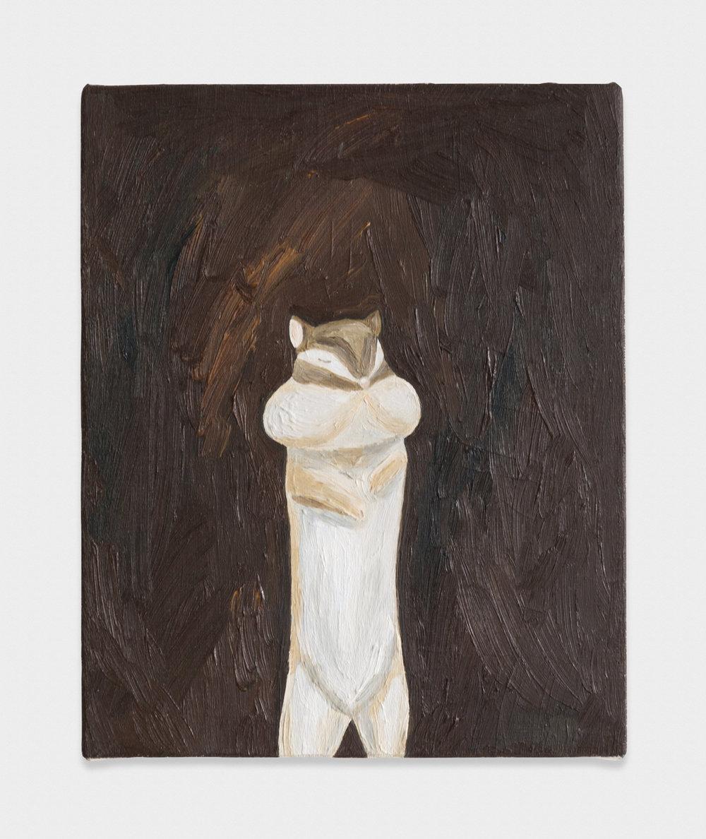 Yuko Murata  Grandma said  2012 Oil on canvas 10 3/4 x 12 1/5 in YukoM001