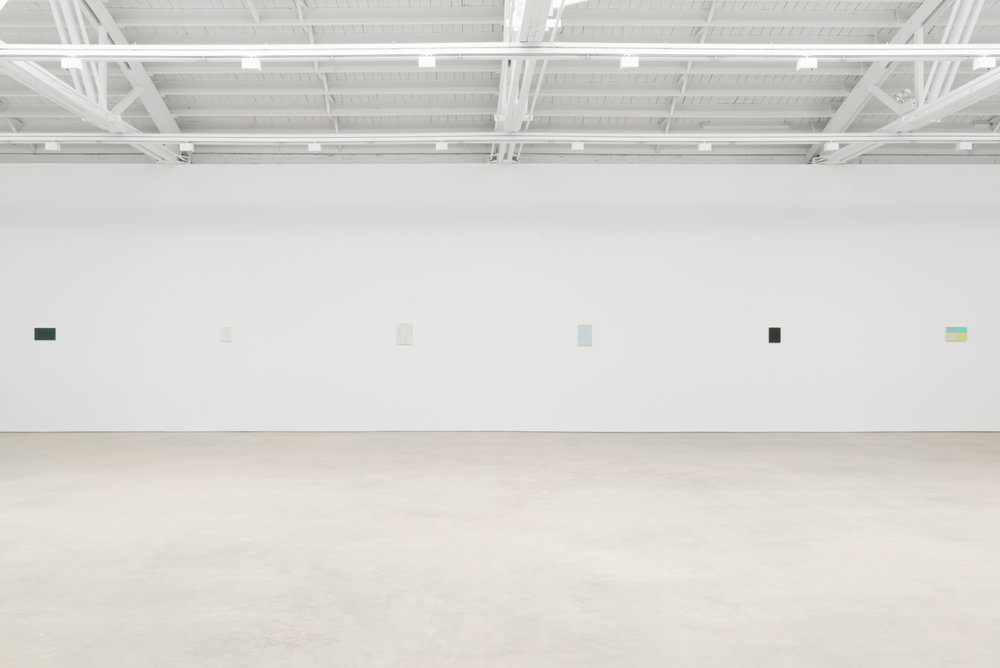 Yui Yaegashi The rain is gone 2017 Shane Campbell Gallery, South Loop Installation view