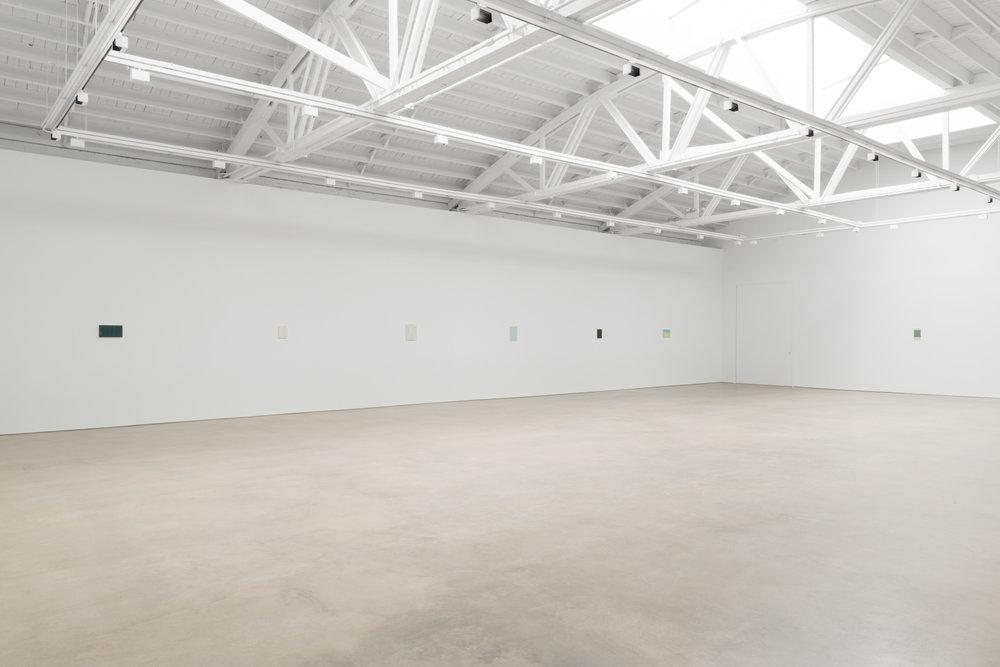 Yui Yaegashi  The rain is gone  2017 Installation view Shane Campbell Gallery, South Loop