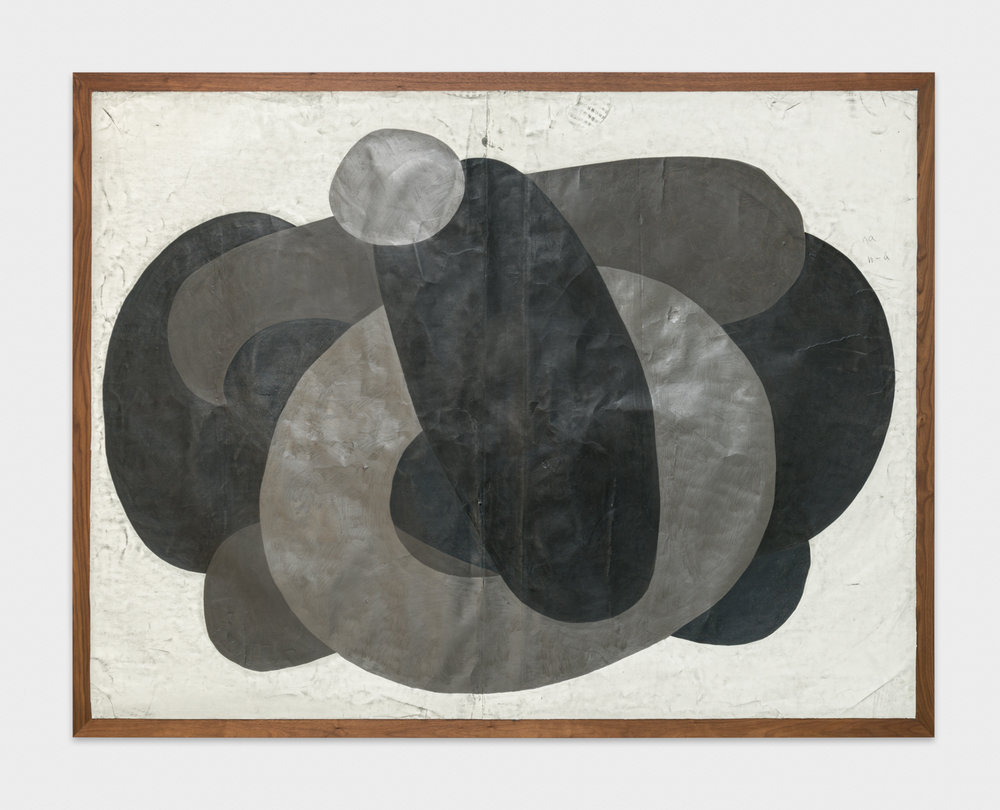 Tony Lewis  Ha! , 2017 Graphite, pencil, and colored pencil on paper mounted on wood 78 x 100 x 2 in TL434