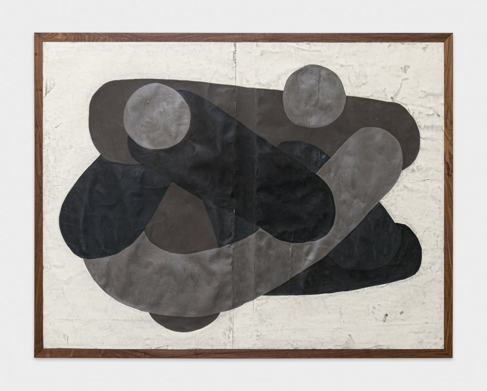 Tony Lewis  Hardy Har Har!  2017 Graphite, pencil, and colored pencil on paper mounted on wood 78 x 100 x 2 in TL433