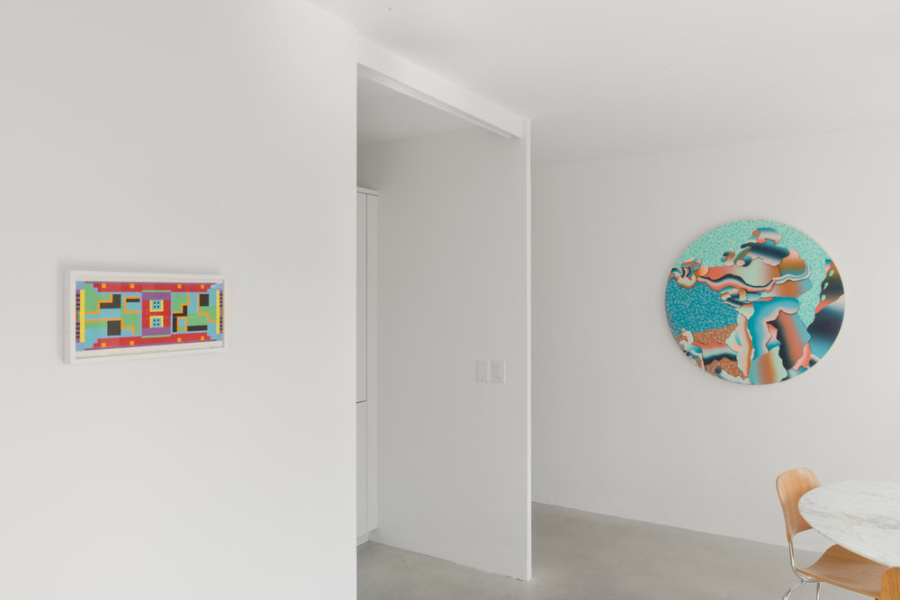 extra-cultural surprise  2017 Installation view Shane Campbell Gallery, Lincoln Park