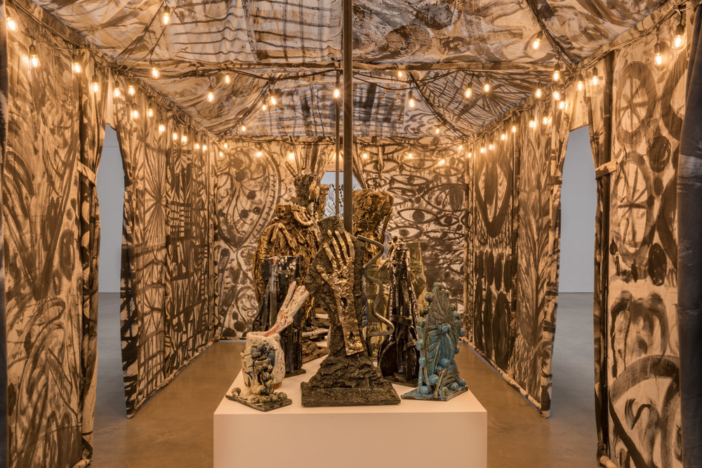 William J. O'Brien Reliquary 2017 Shane Campbell Gallery, South Loop Installation view