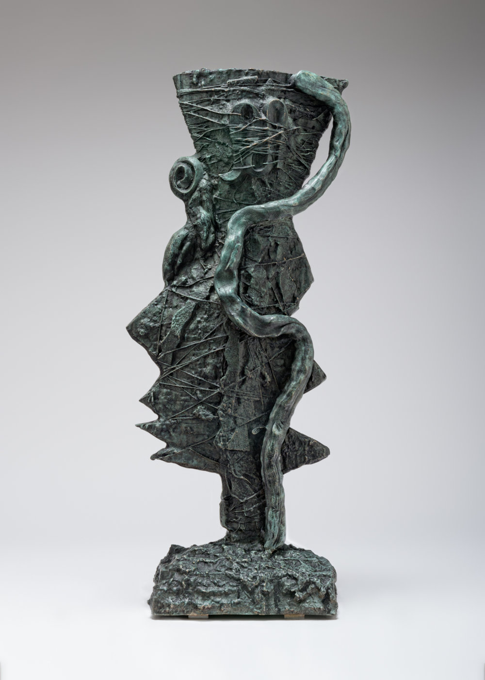 William J. O'Brien  Untitled  2017 Bronze 28 ¾h x 11 ½w x 7d in WOB1190
