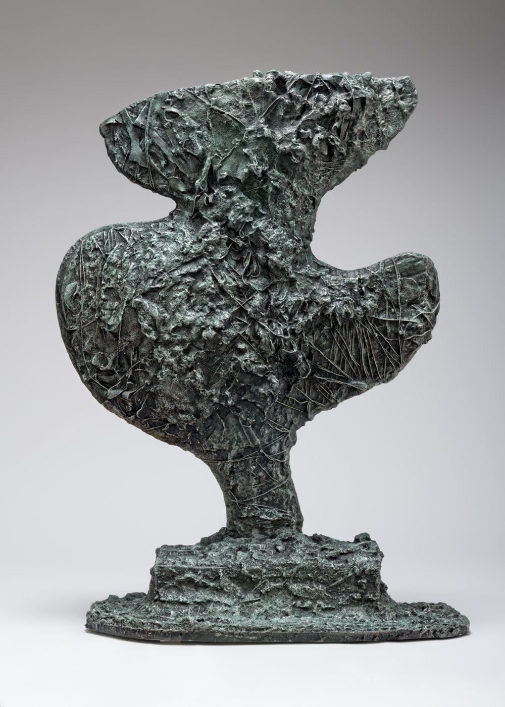 William J. O'Brien  Untitled  2017 Bronze 30h x 12 ½w x 9d in WOB1189