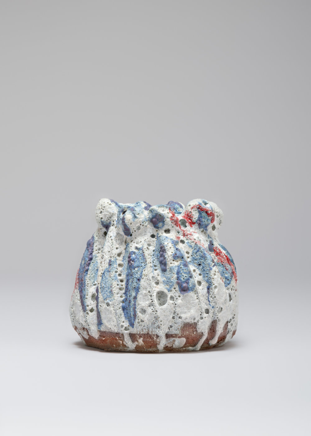 William J. O'Brien  Untitled  2017 Glazed ceramic 7 ½h x 6 ½w x 7 ¼d in WOB1220