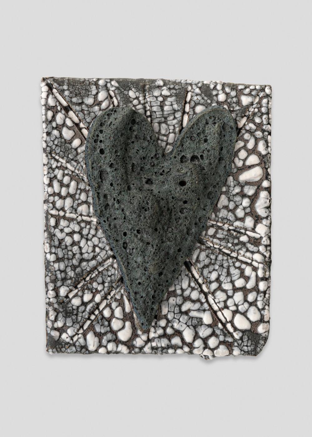 William J.O'Brien  Untitled  2017 Glazed ceramic 8h x 6 ½w x 2 ½d in WOB1236