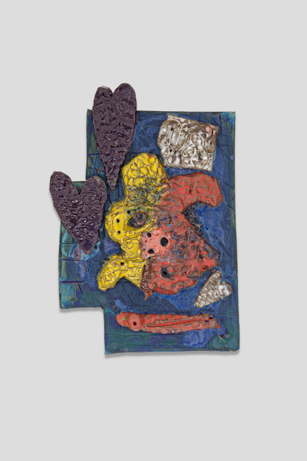 William J.O'Brien  Untitled  2017 Glazed ceramic 19h x 13w x 3d in WOB1234
