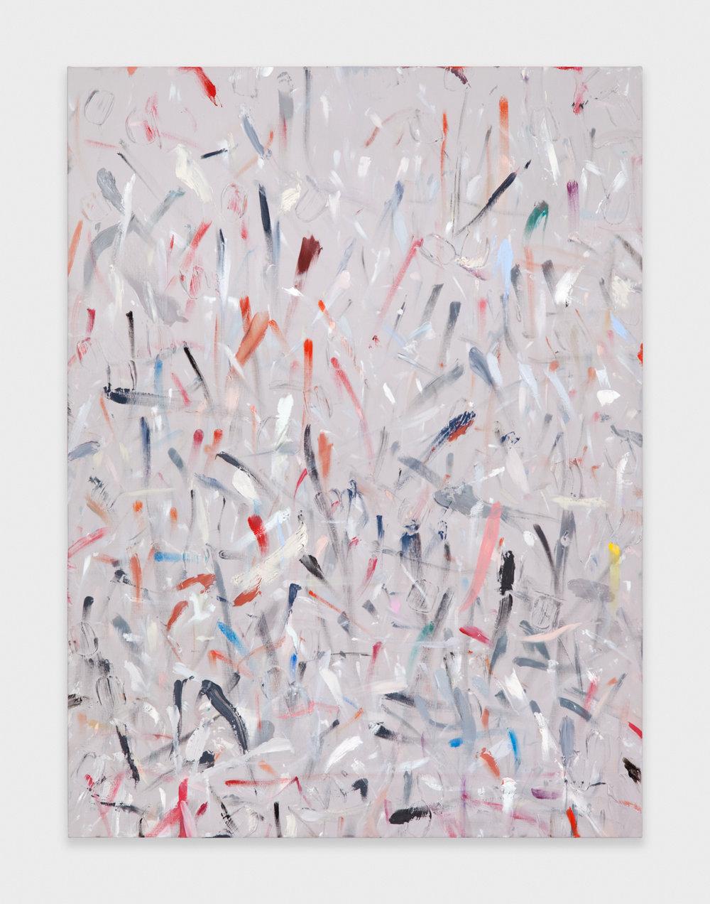 Alex Olson  Mark (November 2011 - February 2012)  2011-2012 Oil on linen 24h x 18w in AO094