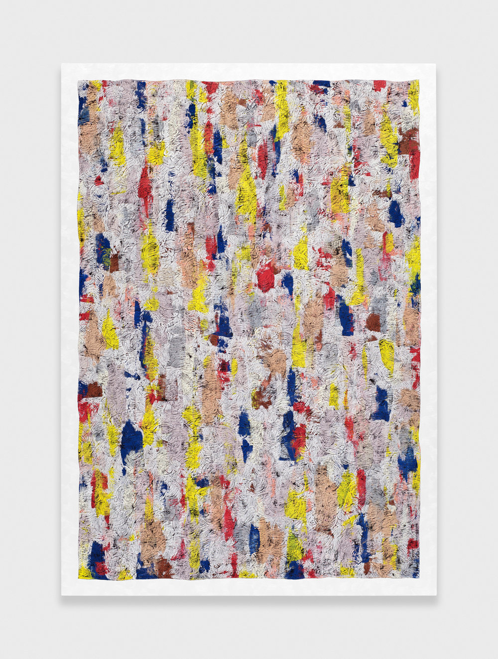 Alex Olson  Proposal #1  2012 Oil on linen 61h x 43w in AO098