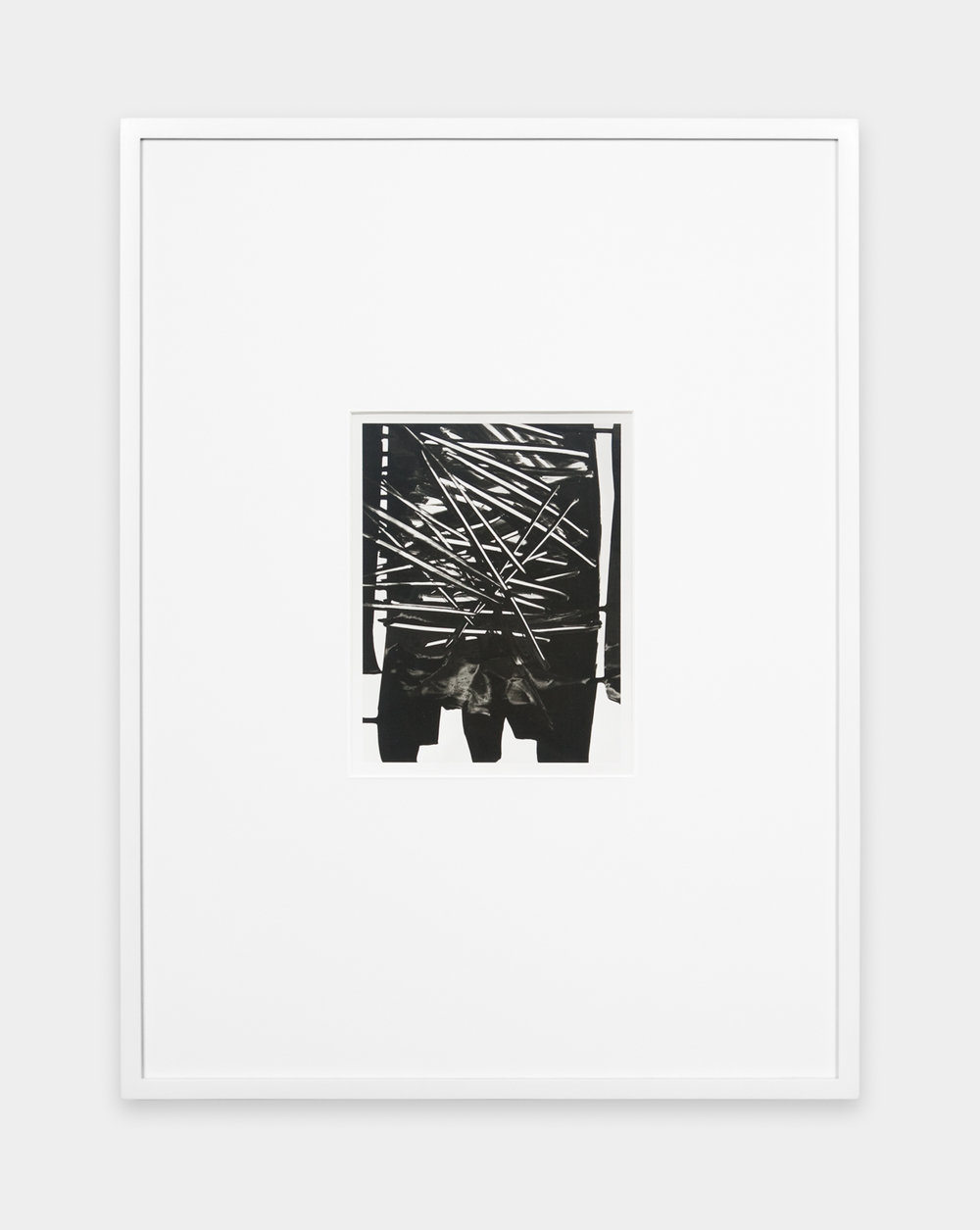 Anthony Pearson  Untitled (Solarization)  2010 Solarized silver gelatin photograph in artist's frame 17  ½ h x 13 ¼w in AP237