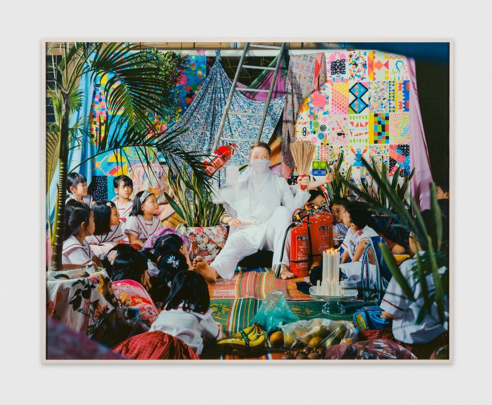 LeonardSuryajaya Communion 2017 Archival inkjet print 63 3/10h x 50w in Edition 1/5 LSur006