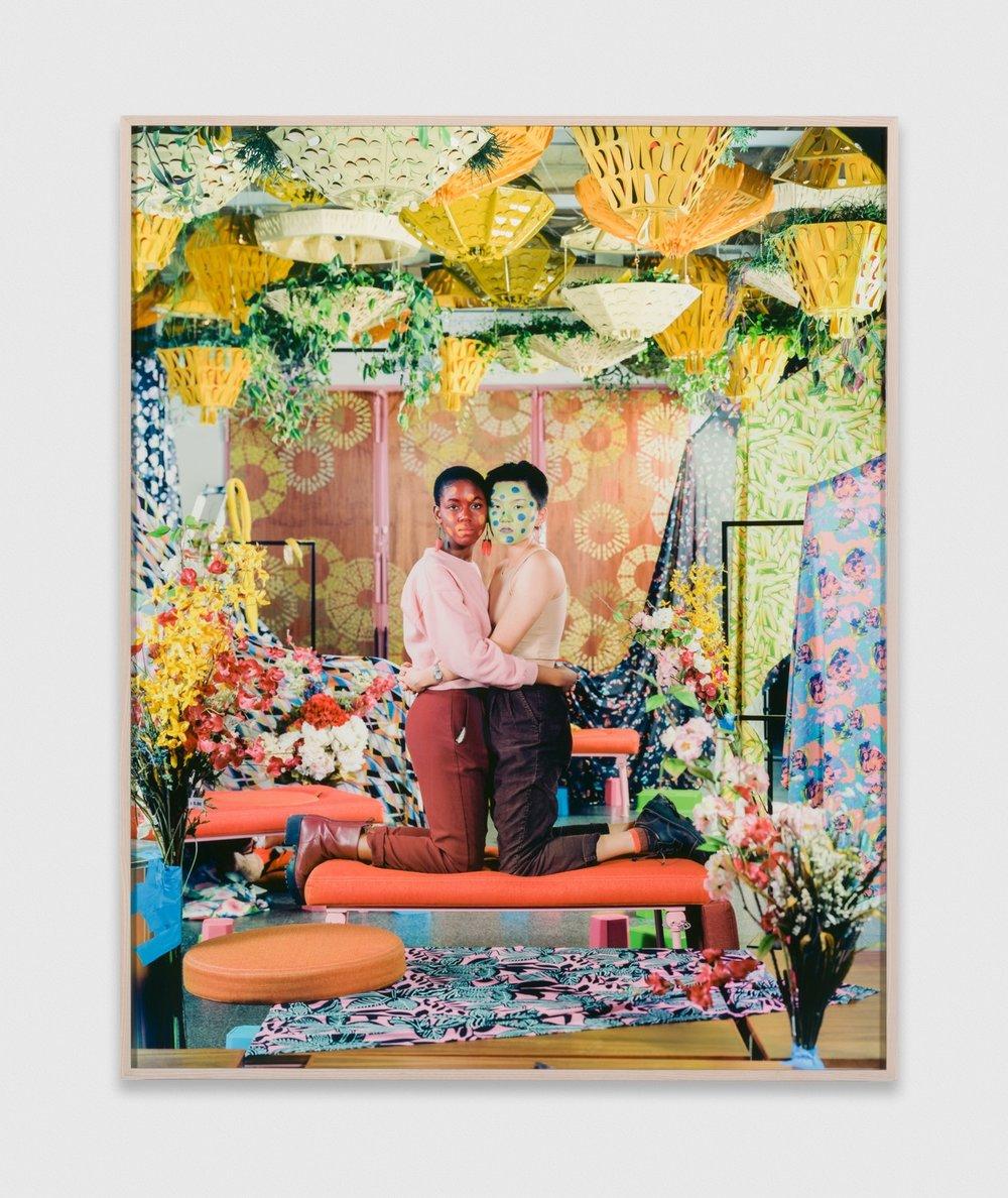 LeonardSuryajaya  Two Bodies  2018 Archival inkjet print 50h x 40w in Edition 1/5 LSur005