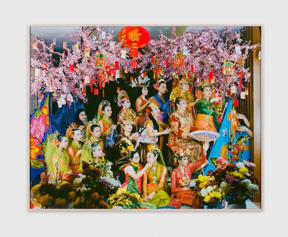 LeonardSuryajaya  Arisan  2017 Archival inkjet print 63 3/10h x 50w in Edition 1/5 LSur003