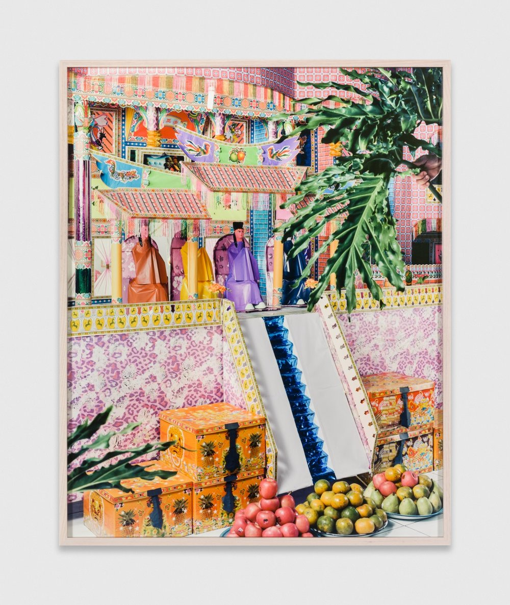 LeonardSuryajaya  Paper House for the After Life  2018 Archival inkjet print 35h x 28w in Edition 1/5 LSur002