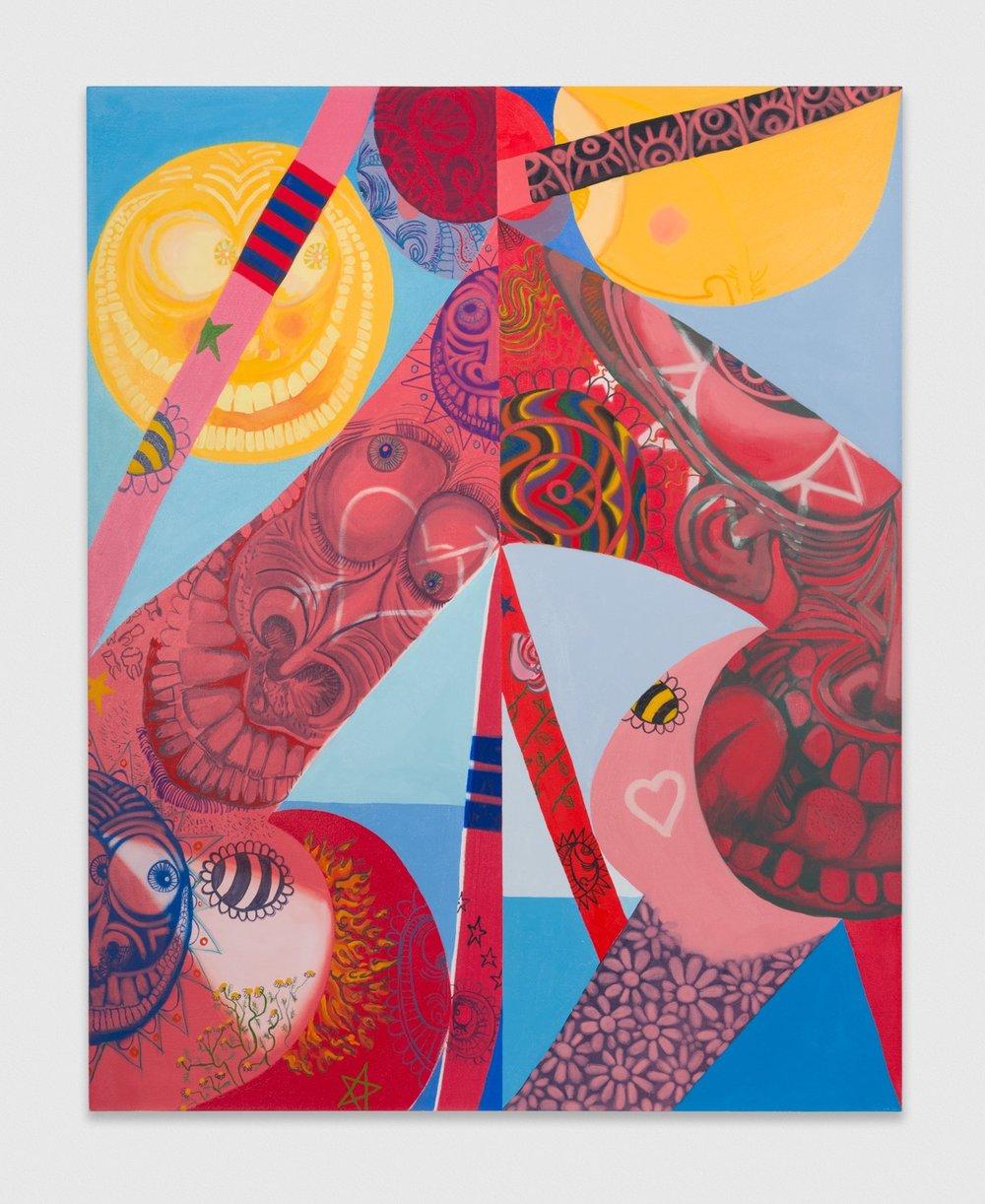PeterFagundo  In Dreams  2018 Oil on canvas 60h x 48w in PF006